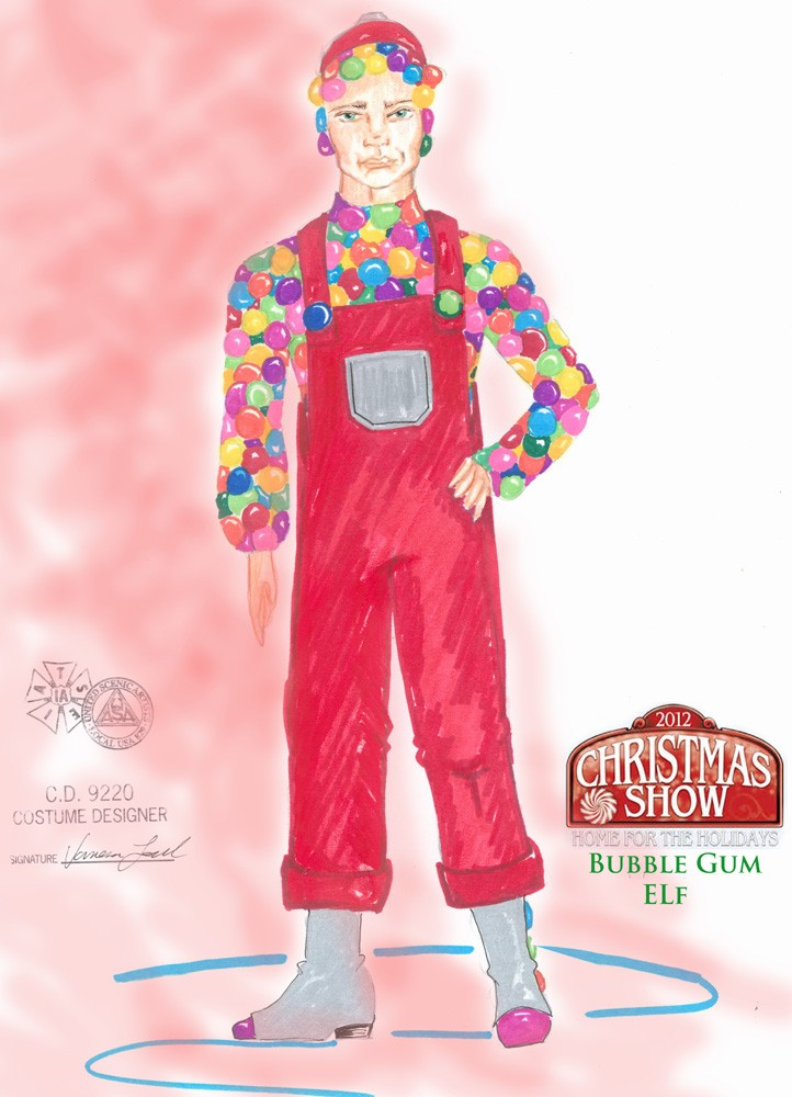 Bubble Gum elf