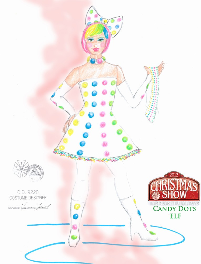 Candy Dots Elf