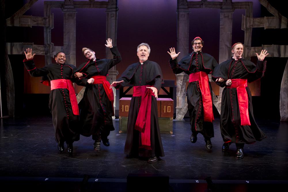 Dancing Cardinals
