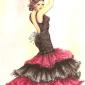 Flamenco Dancer Female
